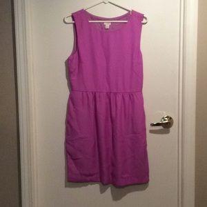 J crew violet purple dress
